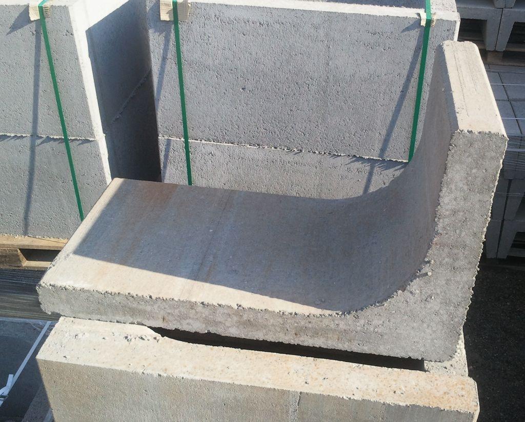 ścianka oporowa z betonu