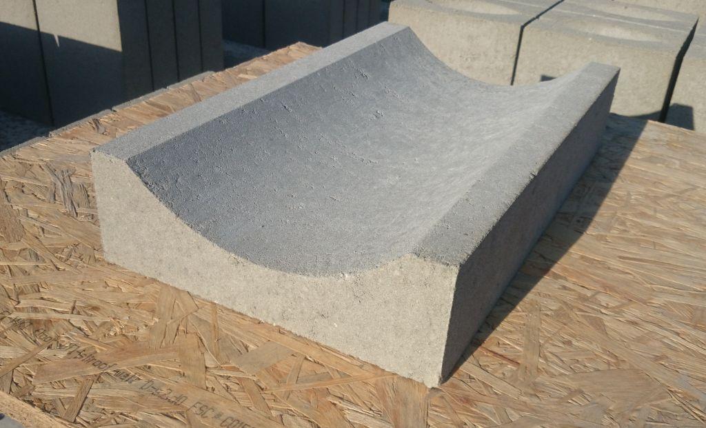 Betonowe korytko muldowe małe