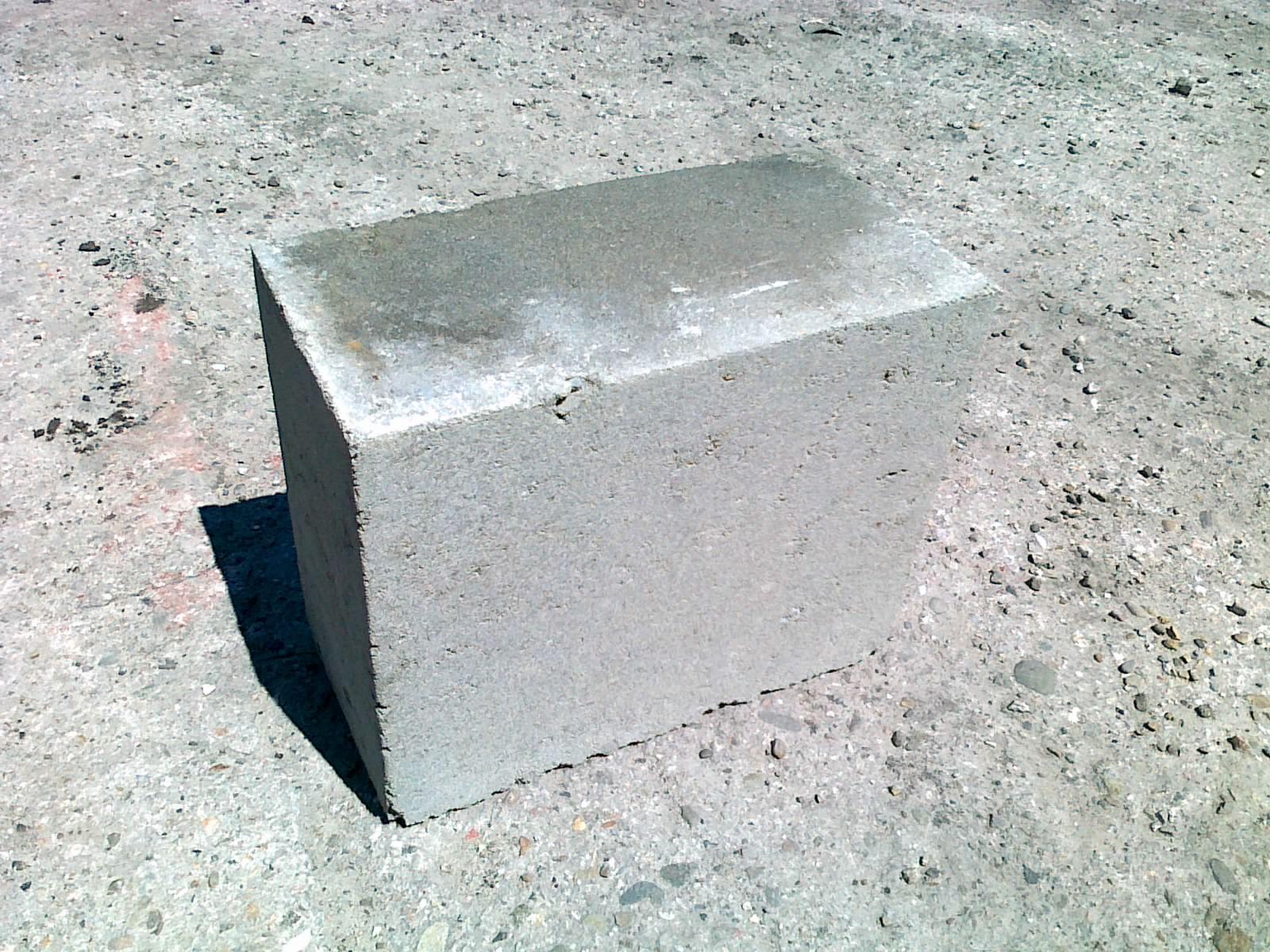 bloczek betonowy fundamentowy m6