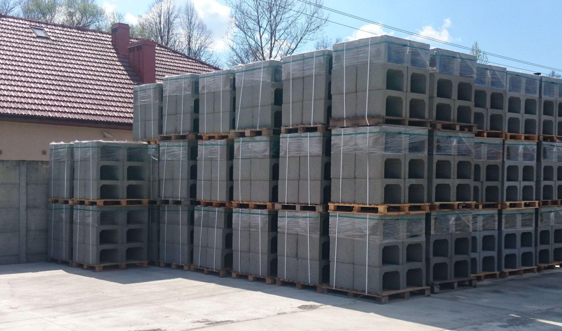 Koryta skrzynkowe betonowe 55x 50x 38